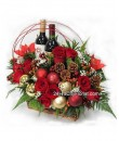 Christmas Flowers and Wines