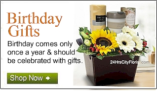 Birthday Gifts & Flowers