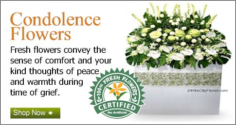 Condolence Flowers Delivery